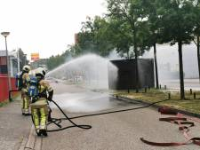 Brand in elektriciteitshuisje in Amersfoort