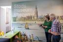 Een kijkje bij de nieuwe entree van het Stadsmuseum Rhenen.