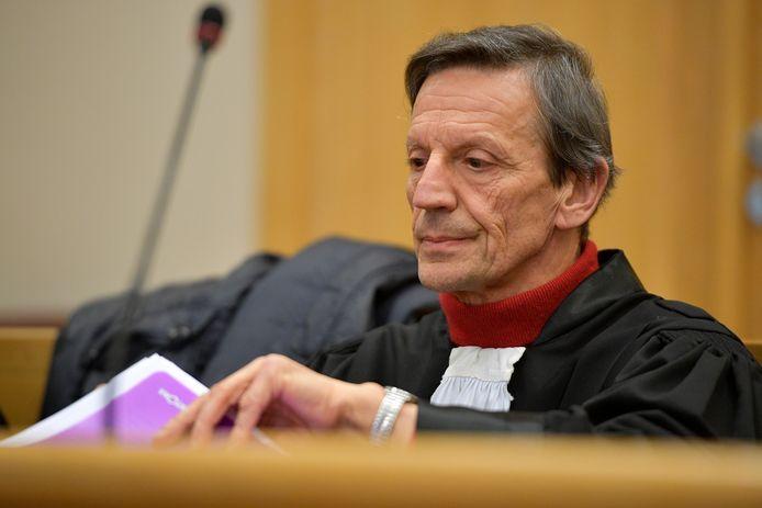 Advocaat Jos Vander Velpen.