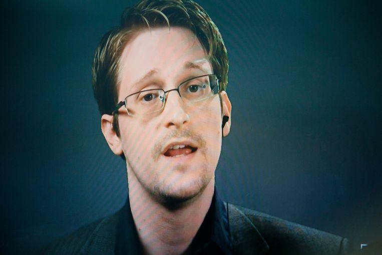 Edward Snowden woont momenteel in Rusland, waar hij politiek asiel kreeg na het lekken van geheime NSA-documenten in 2013. Beeld EPA