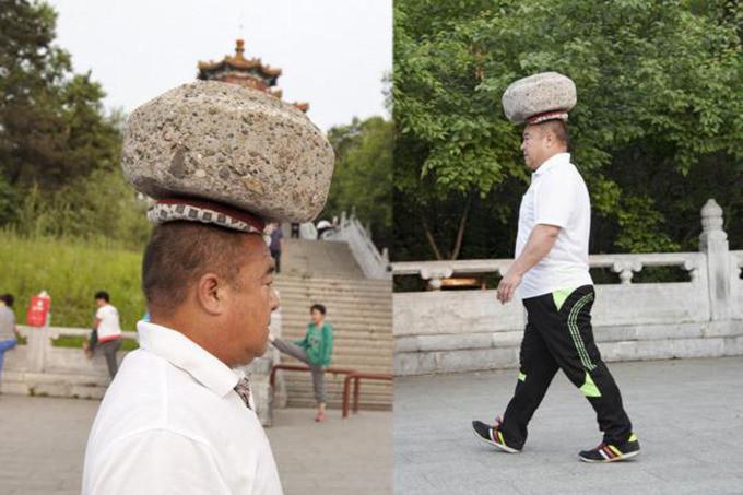 Cong Yan bedacht een originele vermageringsmethode.