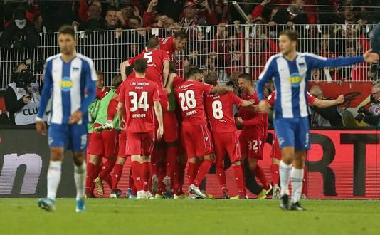 Union Berlin heeft 1-0 gemaakt tegen Hertha.