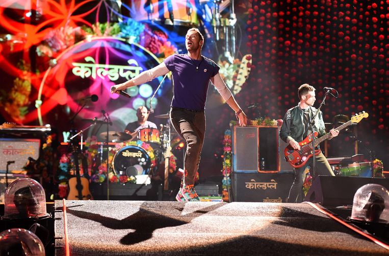 Coldplay. Beeld EPA