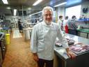 Stephan Schneider, chef van sterrenrestaurant Auberge Saint Walfrid in Sarreguemines.Gee