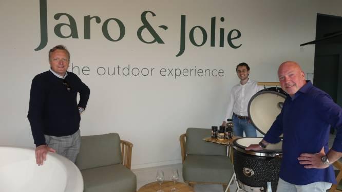 Van jacuzzi's tot barbecue-accessoires van grillmaster Peter De Clercq: Djaro en Olivier openen conceptstore in bekende Latemse interieurzaak
