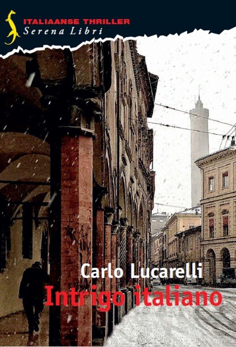 De cover van Intrigo italiano. Beeld