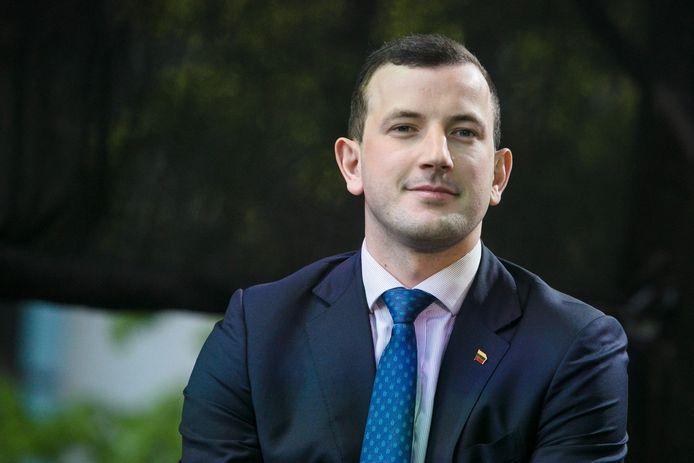 Virginijus Sinkevičius. De nieuwe Litouwse Eurocommissaris is amper 28 jaar oud.