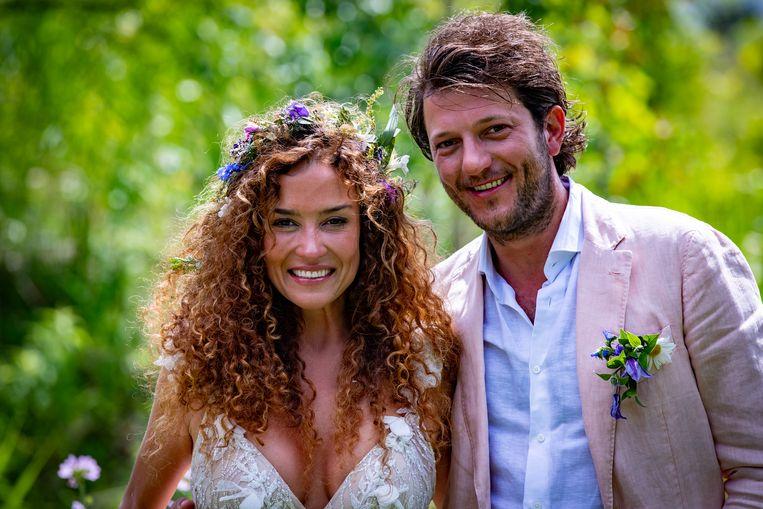 Katja Schuurman en Freek van Noortwijk