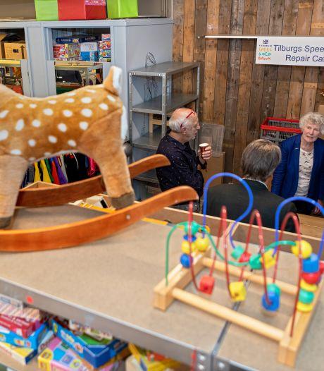 Eerste Tilburgse speelgoedbank, voor arme gezinnen: 'Voor en door kinderen, het gaat om delen'