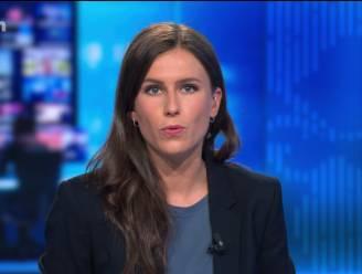 Zo presenteerde Birgit Herteleer haar eerste 'VTM Nieuws' als anker