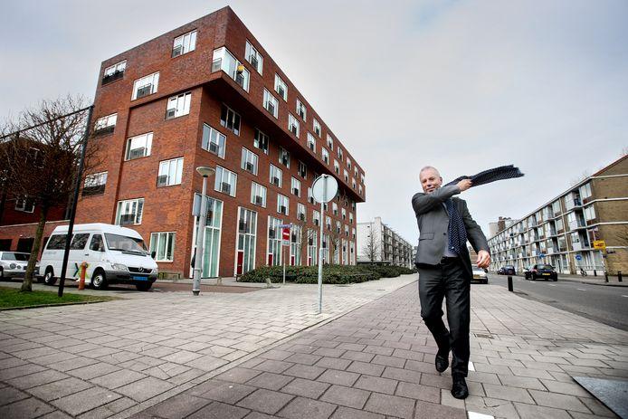 Hans van Harten, secretaris van het Regioplatform Woningcorporaties Utrecht.