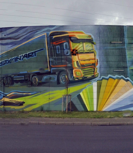 Nieuwe street art aan de rand van Deurne