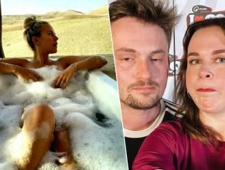 BV 24/7. Eline De Munck gaat buiten in bad en Maarten & Dorothee tonen hun 'feestgezicht'