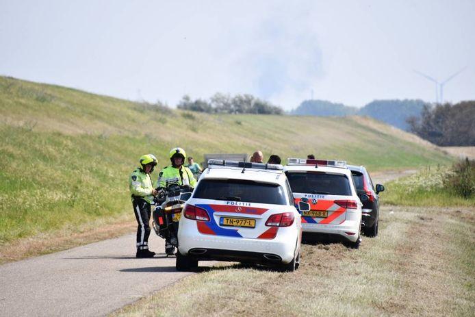 Bij het ongeluk in Nieuw-Namen raakte een persoon gewond.