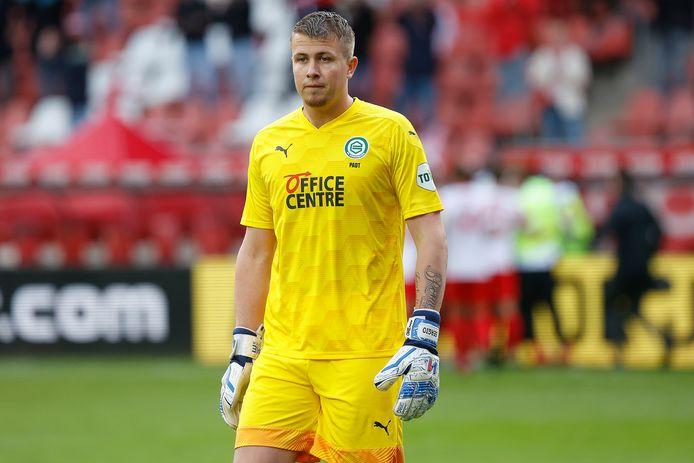 Sergio Padt, hier nog in actie voor FC Groningen.