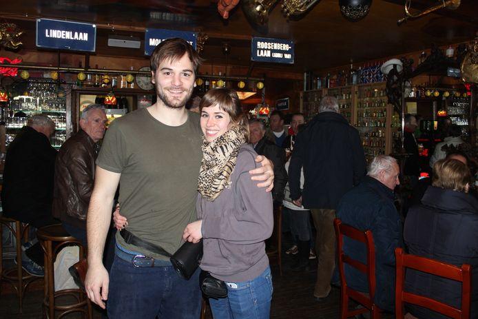 Alessandro Peelman en Anneke Dieleman waren sinds 2015 de uitbaters van café Den Enghel op de Vierschaar in Waasmunster.