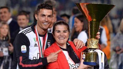 Moeder Cristiano Ronaldo opgenomen in ziekenhuis na beroerte, CR7 laat weten dat haar toestand stabiel is