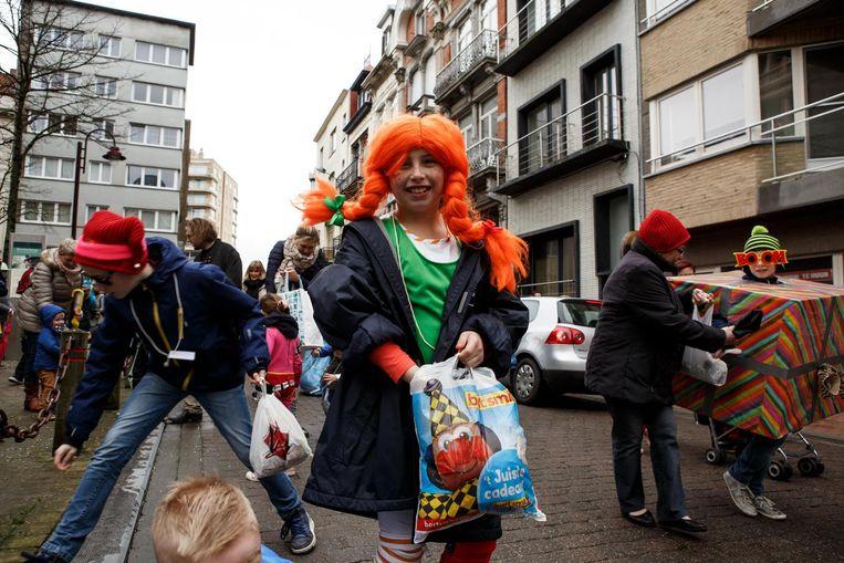 Ook Pippi Langkous was van de partij.