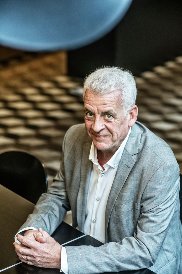 Belgie, Brussel, 21/10/19.walter de donder,kandidaat voorzitter voor de cd&v Beeld Tim Dirven