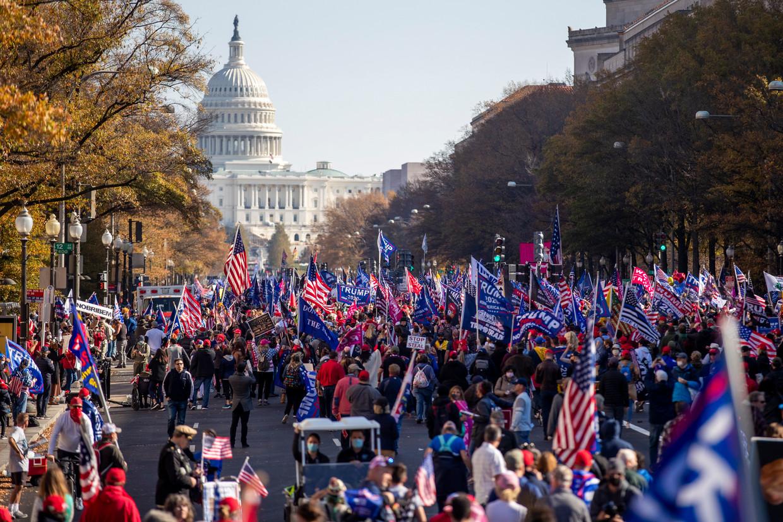 Protesten bij het Witte Huis