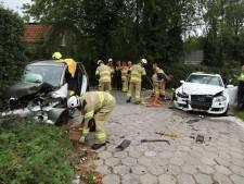 Vier gewonden door frontale aanrijding in Westervoort