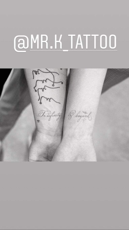 de tatoeages van Sophie Turner en Joe Jonas