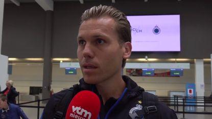 """Club Brugge vertrokken naar Linz: """"We gaan vol gas morgen"""""""