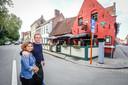 Boem Patat in Brugge uitgebaat door Wesley Despiegelaere en Subhadra Bagale