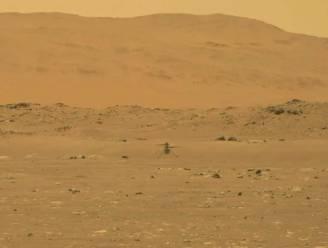 Historische vlucht van NASA-helikopter Ingenuity op Mars geslaagd. Volg hier de NASA-persconferentie