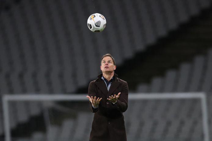 Bondscoach Frank de Boer