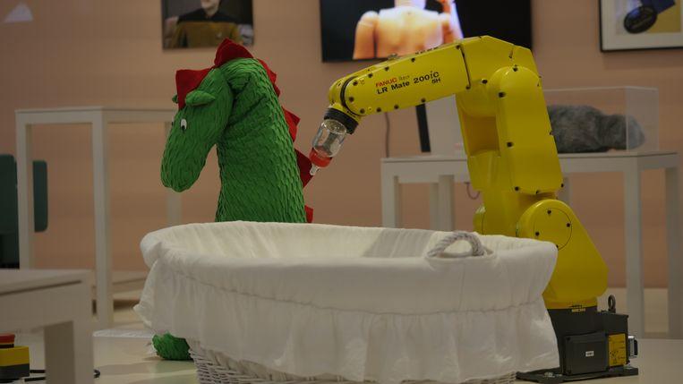 Wat zijn robots? En wat doen designmusea ermee? Dat kun je te weten komen. Beeld rv Freek Evers
