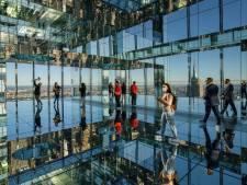 Une nouvelle plateforme d'observation en verre offre une vue imprenable sur Manhattan