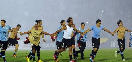 L'Uruguay dernier qualifié pour le Brésil