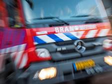 Aanhanger op A2 bij Waardenburg vat vlam; rijstrook weer vrij