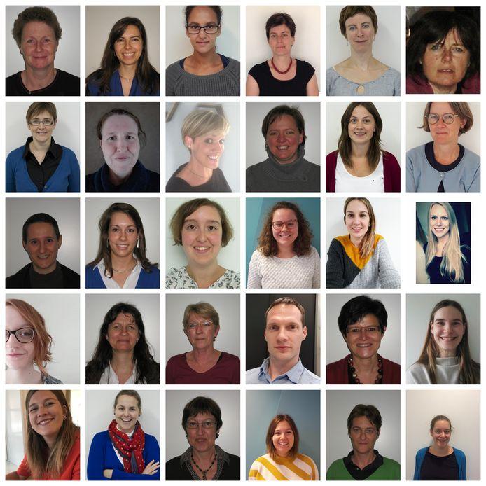 Het team van het Centrum voor ambulante revalidatie - Impuls vzw.