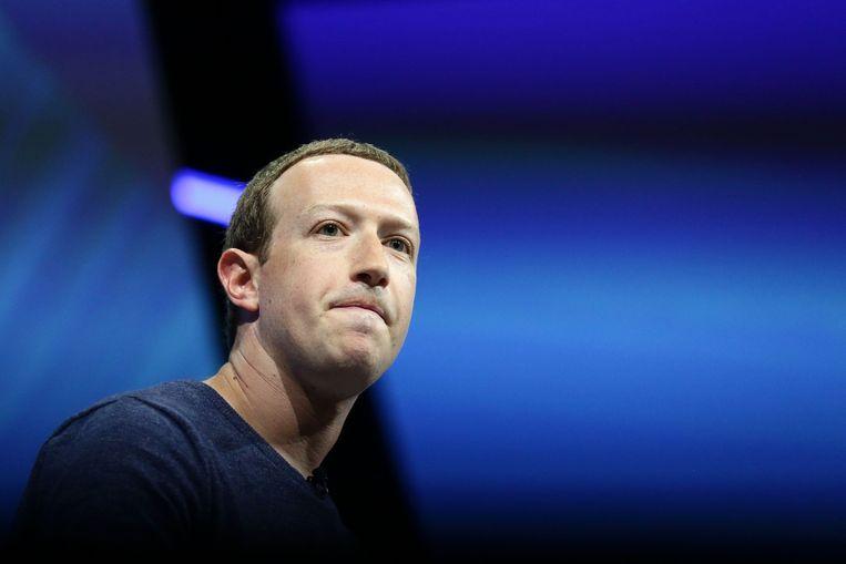 Facebook-topman Mark Zuckerberg. Beeld Photo News