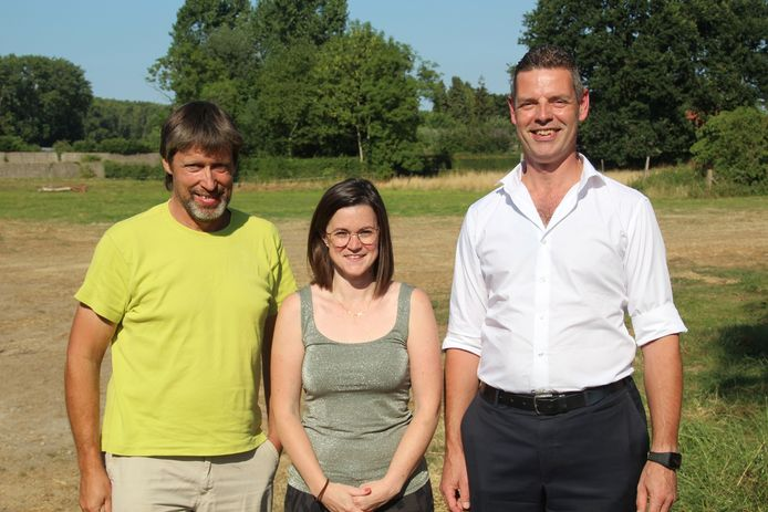 Dirk Rasschaert, Stephanie Camu en Jan Huib Nas willen met 'De Coöperatie' de gemeentepolitiek overstijgen.