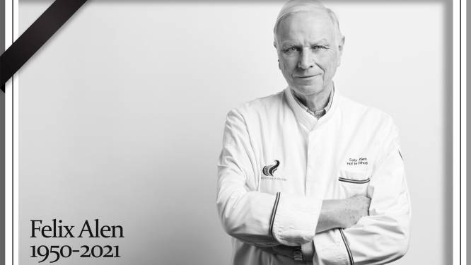 """'s Lands eerste celebrity chef Felix Alen (71) verliest vijfde strijd tegen kanker: """"Tot enkele dagen voor zijn dood vroeg hij naar het keukenteam. Om nog even te overlopen"""""""