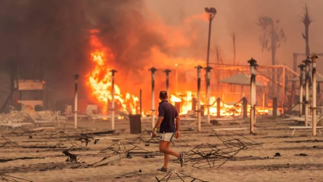 Hitte en branden in Italië, Griekenland en Turkije houden aan, verschillende doden en gewonden