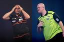 Dirk van Duijvenbode en Michael van Gerwen werden in de kwartfinale van het WK uitgeschakeld.