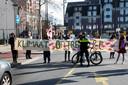 Vorige week vroegen de klimaatactivisten van Extinction Rebellion in Tilburg aandacht voor het klimaat.