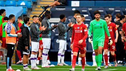LIVE. Eerste goede kans voor Liverpool, City-doelman Ederson is bij de les