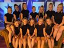 Het team A16 van Dance Studio Janien uit Wierden.