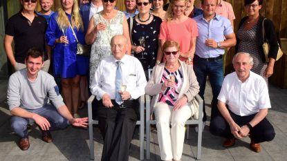 Kamiel en Paula vieren 60ste huwelijksverjaardag