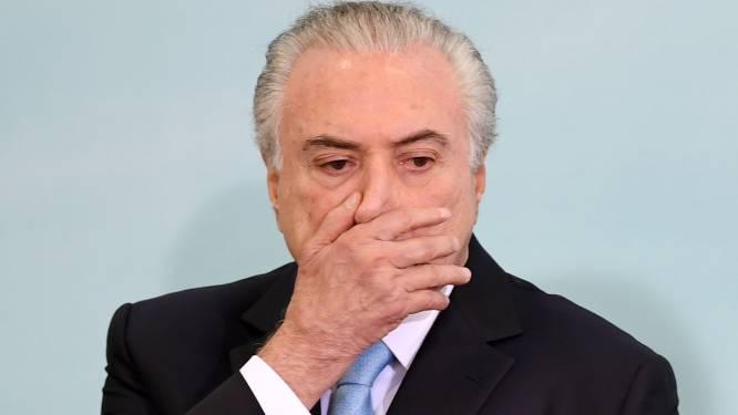 Rechter beveelt opsluiting van Braziliaanse ex-president Temer