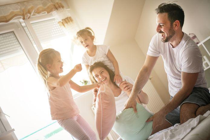 De meerderheid van de gezinnen in Vlaanderen stelt het goed als het over gezondheid, opvoeding, sociaal leven en het functioneren van het gezin gaat.
