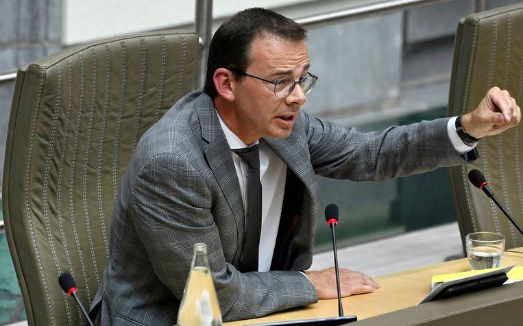 Minister van Volksgezondheid Wouter Beke (CD&V): 'Het is een goede zaak dat gemeenten een actieve rol willen opnemen, maar de gegevens moeten wel centraal blijven.' Beeld Photo News