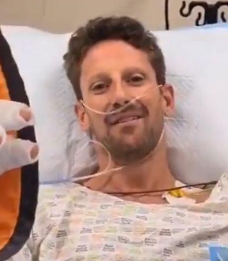 Haas: Romain Grosjean mag morgen ziekenhuis verlaten