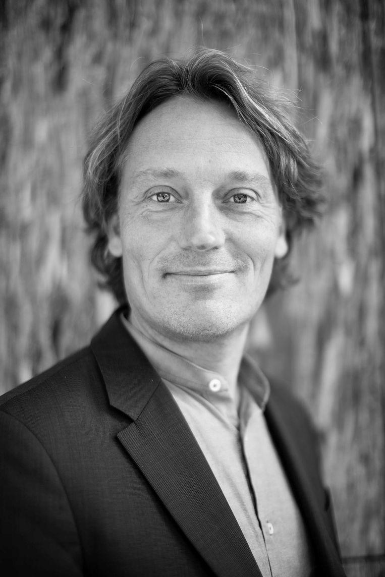 Johnas van Lammeren is fractievoorzitter Partij voor de Dieren in Amsterdam. Beeld Thomas Schlijper