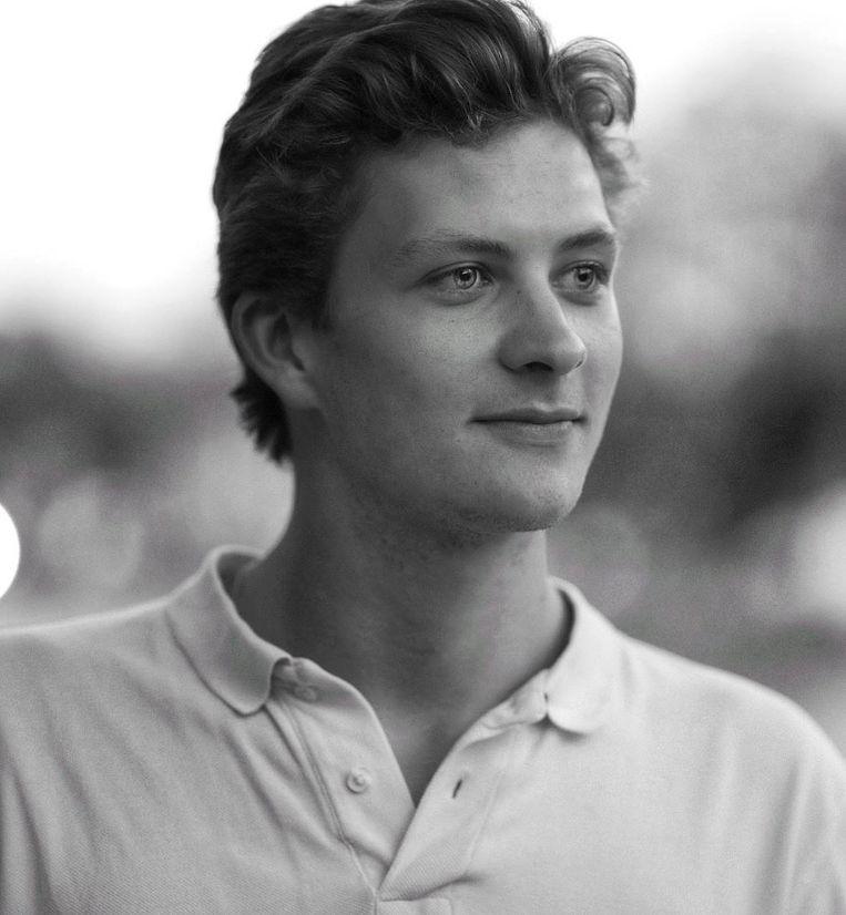 Harmen van Liemt, acteur, theatermaker en student regie. Beeld